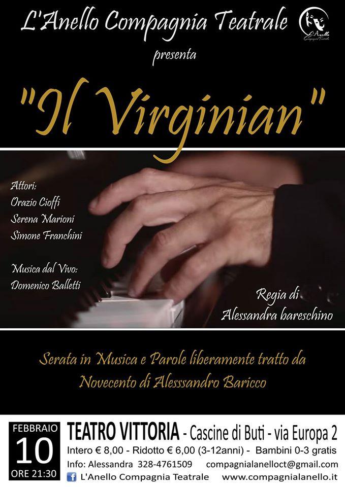 Il Virginian - Serata in Musica e Parole