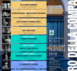 Teatro della Compagnia Stagione Teatrale 2018